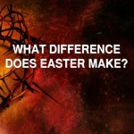 What difference easter